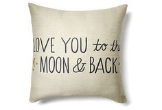 Have to make a pillow for Lewis like this - tell him this every night before bed. This site has cute things!