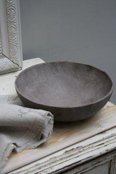 Resin Bowl eclectic serveware