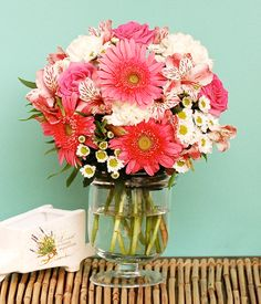 Send Farm Fresh Flowers & High Quality Gifts to the Philippines Fresh Flowers, Spring Flowers, Flowers Today, Happy Today, Flower Delivery, Carnations, Pink Roses, Glass Vase, Bouquet