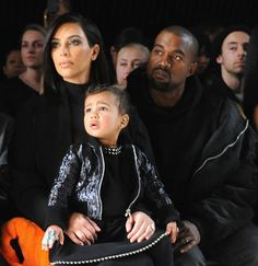 Kim Kardashian and Kanye West's daughter North West threw a temper tantrum in the front row of the Alexander Wang NYFW show -- see the pics, and find out what caused the incident