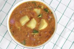 Kohlrabi Sambar (South Indian Lentil Stew) | ABCD's of Cooking | ABCD's of Cooking