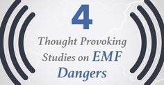 4 Thought provoking studies on EMF Dangers