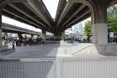 skateboard park downtown - Google Search
