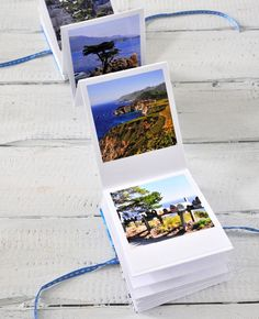 Foto-Leporello mit Fotos aus der Memory Box