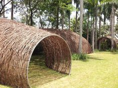Rattan Tunnel at Bacanalia / The Green Life <3