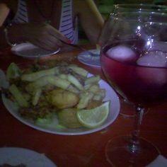 Y para terminar el día, un buen pescaito de la bahía. ;-p blog.elblogdesusanayalba.com #jerez #calidaddevida #susanayalba #pescaitofrito #familia #noche #Internetmarker #negocioonline #megustaloquehago
