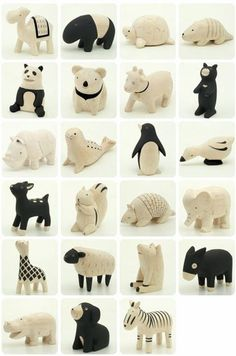 Little ceramic animals