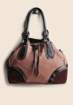 Ruche - Andrea Colorblock Tote Bag By Melie Bianco.