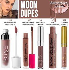 Kylie Jenner lip kit dupe Moon
