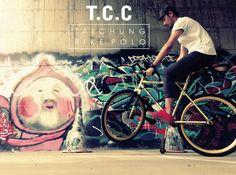 T.C.C Bike Polo - Shin Wei