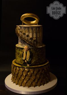 One ring to rule them all (Lord of the Rings)  - Cake by Ceca79