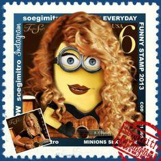 Minion Taylor Swift.