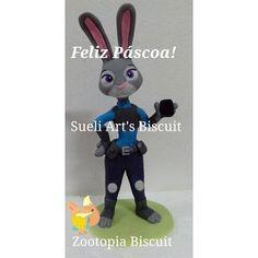 Zootopia Biscuit Personagem Judy Hopps Sueli Art's Biscuit
