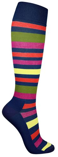 I really like these colourful striped compression socks for women! Wonderful bright colours. Only £12.90 from www.butik21.co.uk/