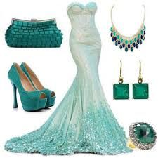All turquoise everything <3