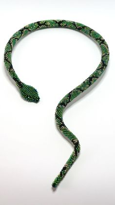 Змея | biser.info - всё о бисере и бисерном творчестве