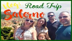 Vlog: Salerno e Castellabate ( Road Trip ) Viajando de carro pela Italia