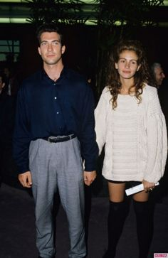 JFK, jr. & Julia Roberts