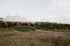 7 Tips for Choosing a Wedding Tent: Helpful How-to's for Outdoor Weddings that Wow | Southern New England Weddings | Sperry Tents | Brea McDonald Photography
