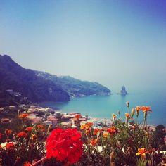 Agios Gordis, Corfu, Greece Mykonos, Santorini, Corfu Island, Celebrity Travel, Funny Tattoos, Wedding Quotes, Outdoor Art, Our World, Art And Architecture
