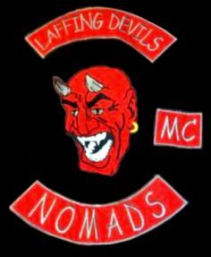 Laffing Devils MC patch logo