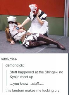 Attack on Titan <<< this fandom is just plain ridiculous (but also highly entertaining, sooo)