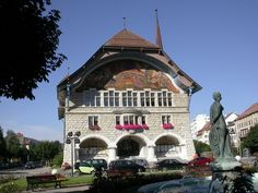 Le Locle, Switzerland.  http://www.worldheritagesite.org/sites/lachauxdefonds.html