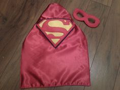 Nb superman cape and mask