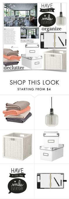 """Declutter!"" by orietta-rose on Polyvore featuring interior, interiors, interior design, home, home decor, interior decorating, Scapa Home, Normann Copenhagen, organize and declutter"