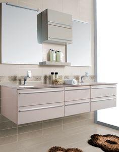 Composizione 12 cm 196 crema brillante CRB. Euro Bagno arredobagno e Mobili da bagno bathroom furniture since 1973.
