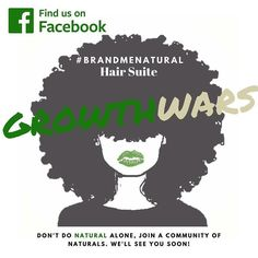 Join the fasted growing #natural hair community on #facebook!  #naturalista #naturalhair #brand #community