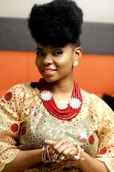 Ghana Fashion Magazine | Bland 2 Glams Jewelry Collection | Yemi Alade | Natural Hair