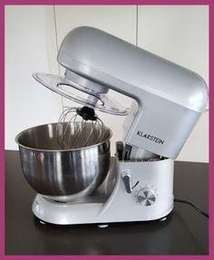 Die Backprinzessin: Neue Küchenmaschine: Klarstein Bella Argentea TK2 Kitchen Aid Mixer, Kitchen Appliances, Recipe, Kitchens, Food Processor Recipes, Stones, Cooking, Diy Kitchen Appliances, Home Appliances