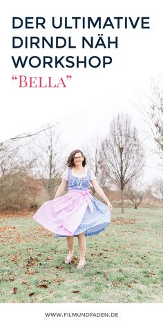 "Das ""Bella"" Dirndl vom La Bavarese Dirndl Workshop Workshop, Blog, Shoulder Dress, Dresses, Fashion, Dirndl, Sewing Patterns, Figurine, Clothing Apparel"