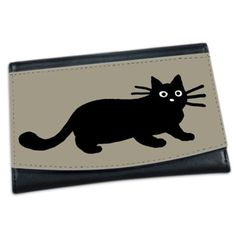 A cute black cat wallet! - Gift Ideas For Cat Lovers (CafePress.com)