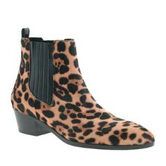 Collection Chelsea calf hair boots - j.crew collection