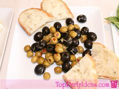 Marinated Olives are so easy and can be served as an appetizer, snack or serve with pre-dinner drinks at any themed party like, Wine Tasting Party, Spanish Theme Party, or any adult event.