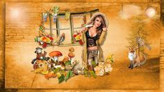 Super Tag d'automne 7 Photoshop, Painting, Art, Animation, How To Paint, Fall Season, Art Background, Painting Art, Kunst