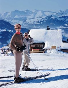 Gstaad by Slim Aarons. Ski