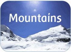 EYFS KS1 KS2 teaching resources - MOUNTAINS / THE MOUNTAIN ENVIRONMENT - KS2 Geography topic - IWB teaching resources