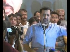 Mustafa Kamal Comment on Stone Throwing on His Convey in Mir pur Khas