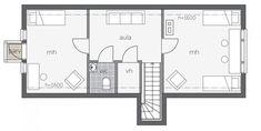 Koskela F / Kontio Floor Plans, Diagram, Floor Layout, House, Floor Plan Drawing, House Floor Plans