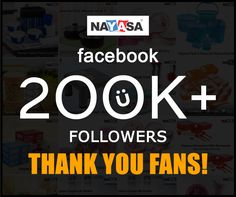 Thank You to our 200K+ Fans on Facebook!