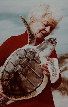 The Turtle Lady - Founder South Padre Island, Sea Turtle Institute