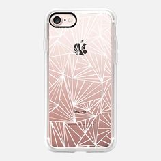 Ab Fan White Transparent -  #casetifyiphone7 #iphone7 #geometric #abstract