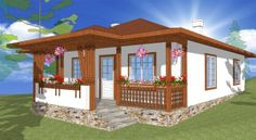 modele de case mici in stil italian - Yahoo Image Search Results Gazebo, Pergola, Mansions Homes, Beautiful Villas, Village Houses, Design Case, Luxury Villa, Mykonos, Traditional House