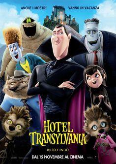 """Lupi mannari, #Frankenstein, la mummia, l'Uomo, una vampira teenager e il suo """"celebre"""" babbo #conteDracula. Non manca nessuno all' #HotelTransylvania (2012, di Genndy Tartakovsky)"""
