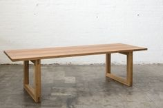 Mark Tuckey Loop Dining Table - diy something similar for new dining area