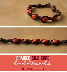 Braided Bead Bracelets