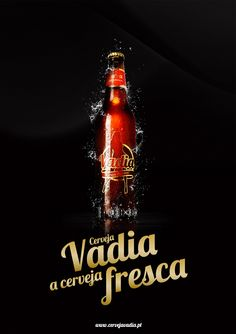 Vadia Beer [Poster] by Diogo Masgalos, via Behance